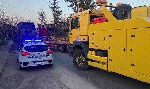 Автобус с деца катастрофира край Горна Малина