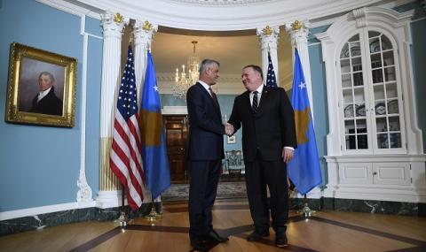 САЩ притискат Косово заради Сърбия
