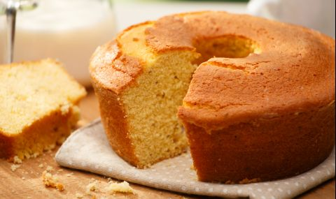 Рецепта на деня: Сладък царевичен кекс
