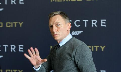 Агент 007 ляга под ножа