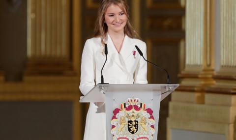 Белгийската принцеса влиза във военно училище