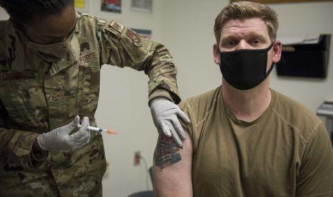 Близо 50% от американците желаят да се ваксинират срещу COVID-19