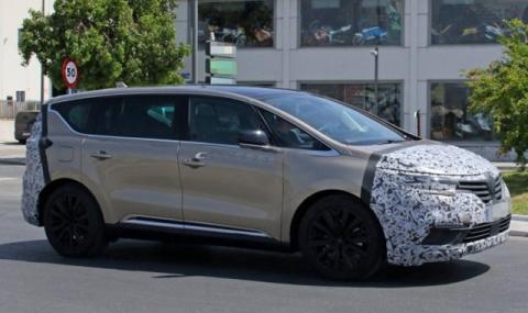 Вановете няма да умрат: Renault пуска нов Espace