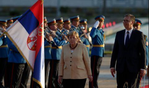 Сръбски политик към Меркел: Вземи Вучич със себе си, ти го доведе на власт - 1
