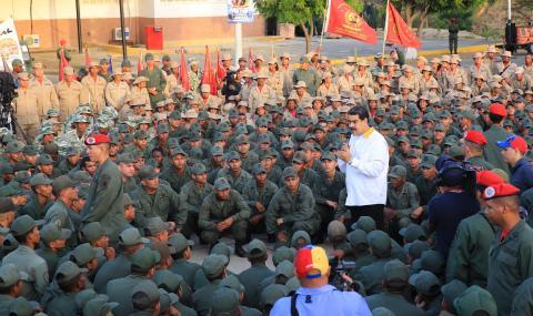 Във Венецуела погнаха опозиционни депутати