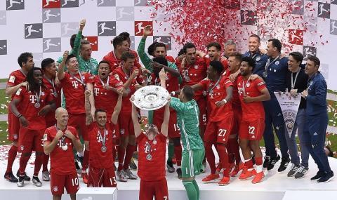 Байерн отново е шампион на Германия (СНИМКИ)