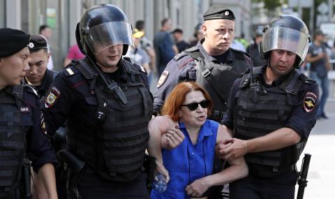 Демокрация по руски! 1400 ареста за няколко часа