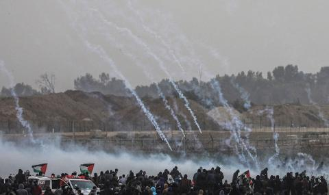 Ракетен дъжд над Израел