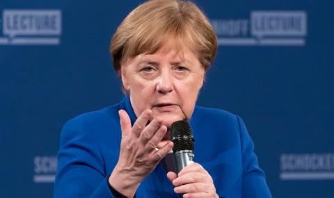 Меркел призна: Тревожа се за Европейския съюз