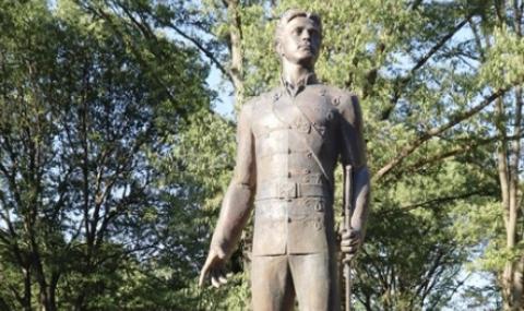 Откриха паметник на Васил Левски в Русе