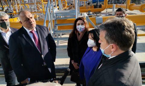 Борисов: От днес в България има пълна диверсификация (ВИДЕО)