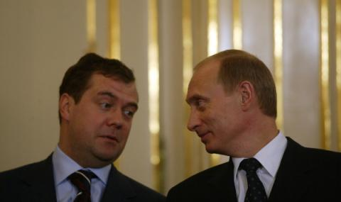 Медведев излезе от тандемa