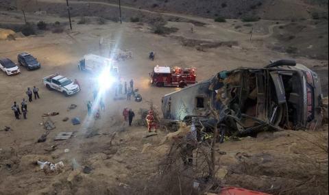 Трагедия! Осем привърженици на Барселона (Гуаякил) загинаха в Перу (ВИДЕО)
