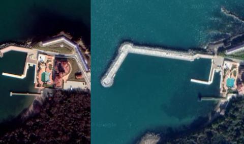 Ахмед Доган си е построил частен 230-метров вълнолом с благословията на властите