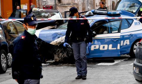 Банкови обирджии убиха полицай в Италия