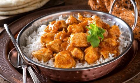 Рецепта за вечеря: Пиле по индийски