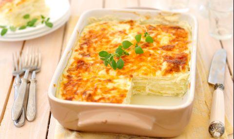 """Рецепта за вечеря: """"Зелена"""" лазаня с тиквички и сирена - 1"""