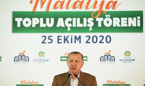 Реджеп Ердоган с бурна реакция
