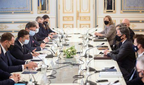 Зеленски благодари на САЩ за помощта срещу Русия