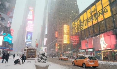 Ню Йорк в зимна блокада