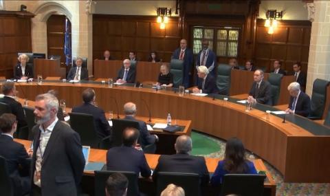 Разпускането на британския парламент е незаконно