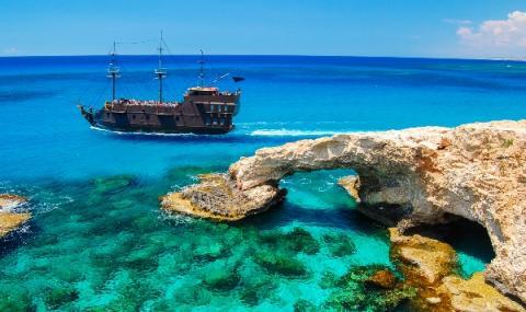 Откриха уникален потънал кораб край Кипър