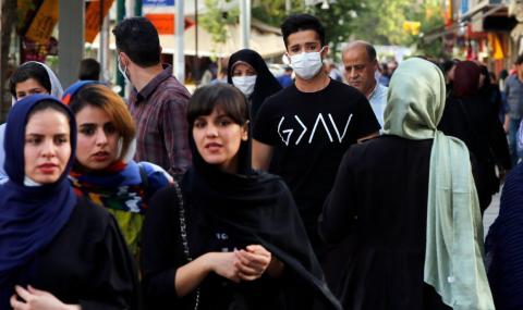 Рекорден брой заразени в Иран за денонощие