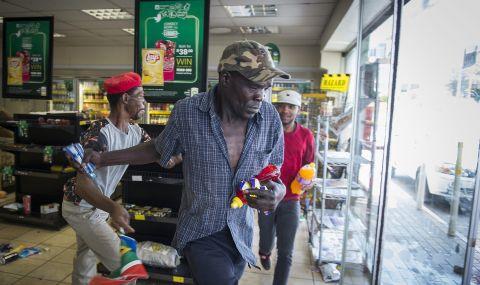 Гражданска война в Южна Африка: правителството разполага 25 000 войници по улиците