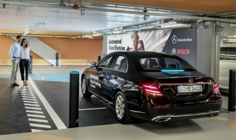 Разрешиха на Mercedes роботизирани паркинги (ВИДЕО)