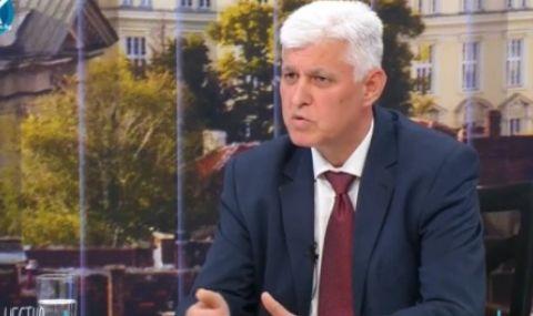 Стоянов: Санкциите са в резултат на това, че службите бяха на ръчно управление от Борисов