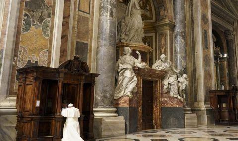 Папа Франциск с новогодишно послание за мир и разбирателство