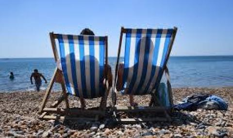 Прекрасен ден за плаж