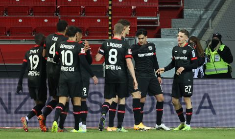 Байер Леверкузен спечели дербито срещу Борусия Дортмунд