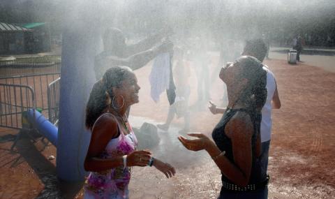 Живакът във Франция удари 45 градуса