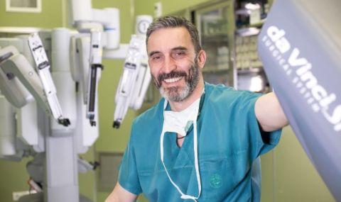 Бъбречни тумори отстранени с роботизирана хирургия