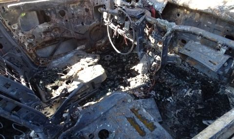 Запалиха автомобила на бившия шеф на полицейското управление в Дупница