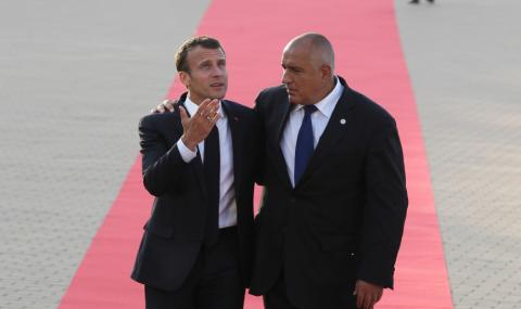 Борисов си показа дипломата