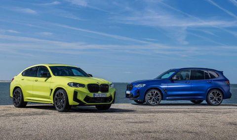 BMW X3 и X4 също получиха фейслифт - 2