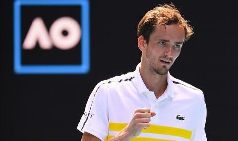 Медведев, Циципас и Беретини постигнаха победи на Australian Open