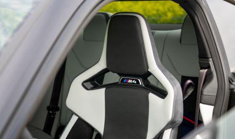Тествахме новото BMW M4 Competition - 19