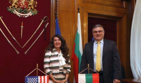 Н. Пр. Херо Мустафа и министър Панайотов са обсъдили модернизацията на армията - 1