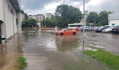 Пороен дъжд блокира Русе - 2