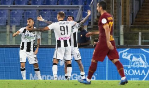 Рома разочарова у дома, а Шампионската лига вече изглежда мираж