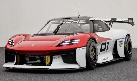 Porsche показа ел. състезателна кола с 1073 конски сили - 1
