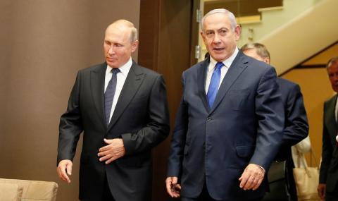 Израел: Никога не сме били толкова близки с Русия