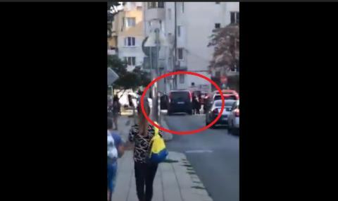 Зрелищен арест в Бургас (ВИДЕО)