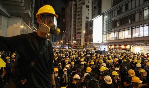 Хиляди на протест в Хонконг