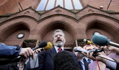Историческа оставка в Дъблин (СНИМКИ)