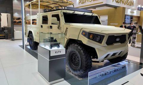 Kia показа военен всъдеход - 3