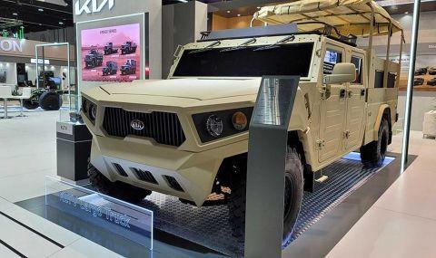 Kia показа военен всъдеход - 1